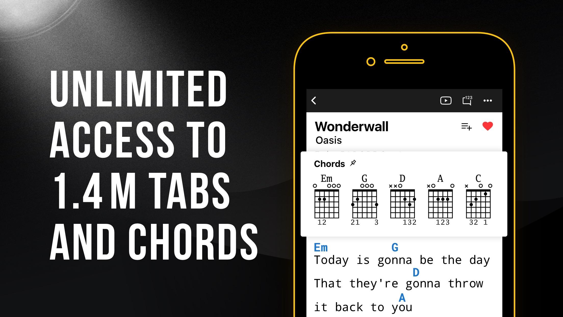 Ultimate Guitar: Chords & Tabs Screenshot