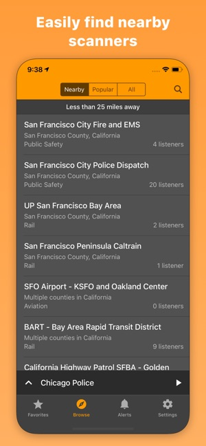424d54b2 Scanner Radio: Police & Fire on the App Store