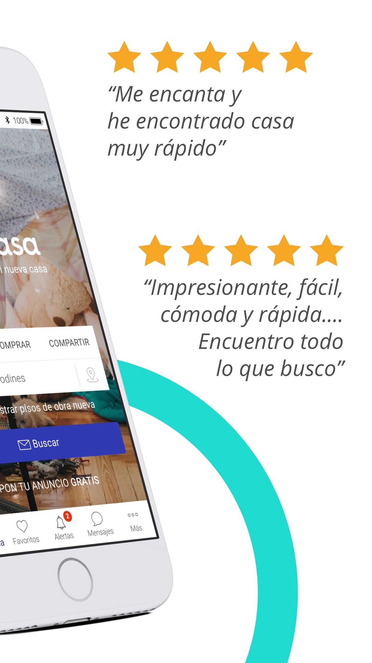 Fotocasa - Alquiler y venta Screenshot