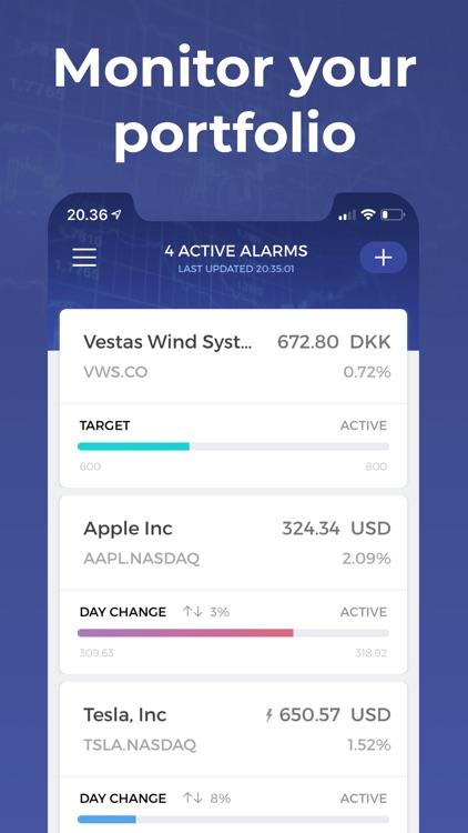 Stock Alert - Stocks tracker screenshot-0