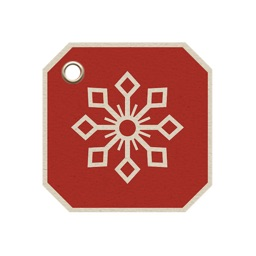 Christmas gift tags stickers