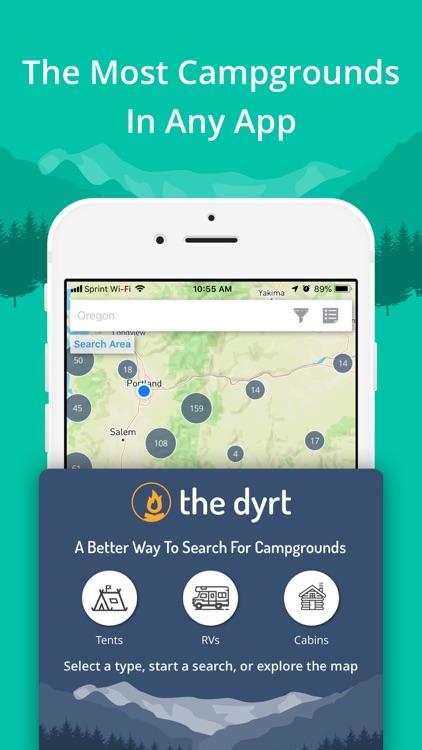 The Dyrt Tent & RV Camping App