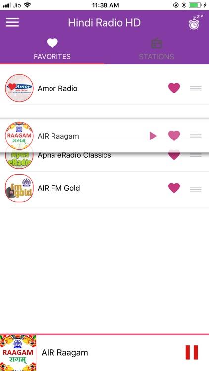 Hindi Radio HD - Hindi Songs screenshot-5