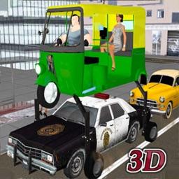 Elevated Taxi Tuk Tuk Rickshaw