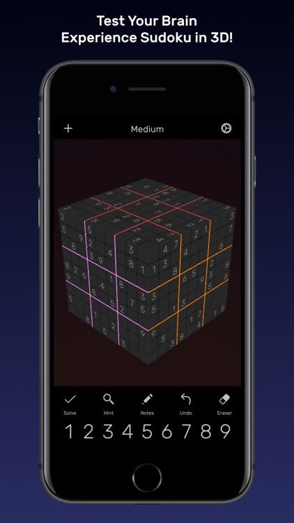 Sudoku Evolved - 3D Puzzles screenshot-0