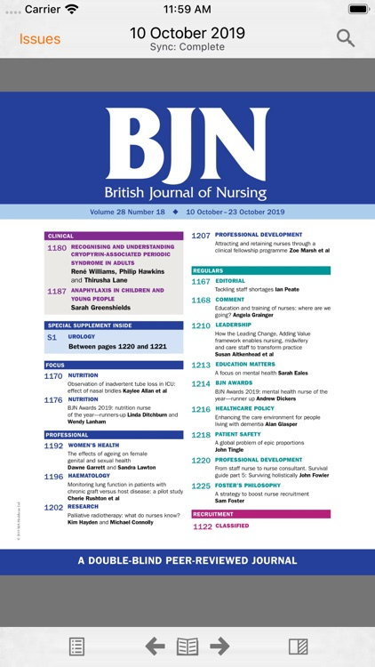 British Journal of Nursing