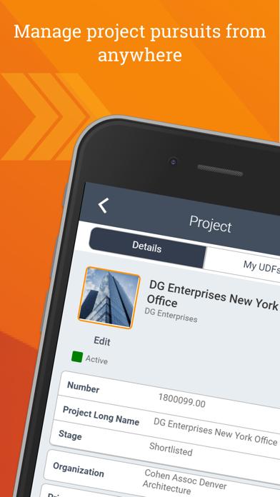 Deltek CRM for Vantagepoint - App - iOS me