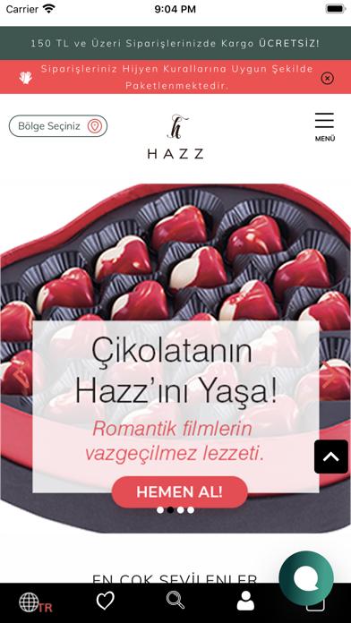 HAZZ screenshot 1