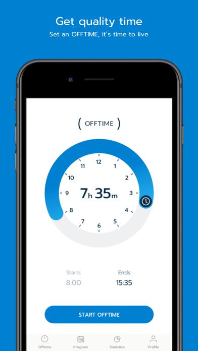 OFFTIME - the App to unplug Screenshots