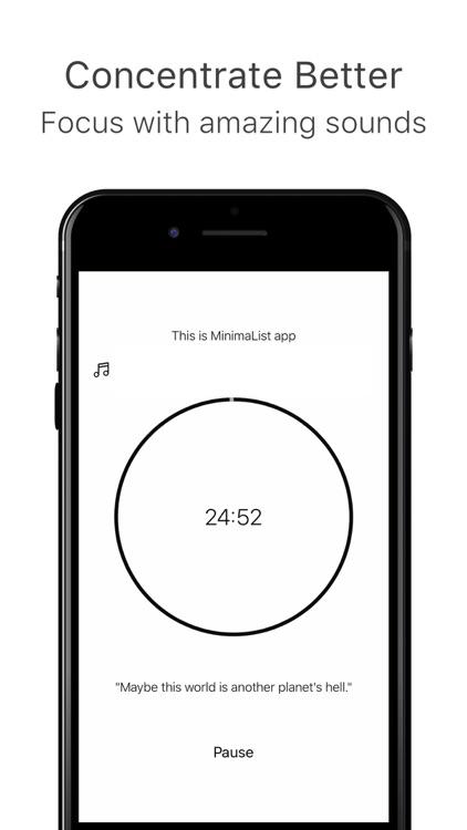 MinimaList Pro. screenshot-3