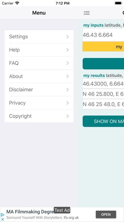 GPS coordinates converter screenshot-5