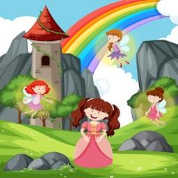 Princess Coloring Book of Kids