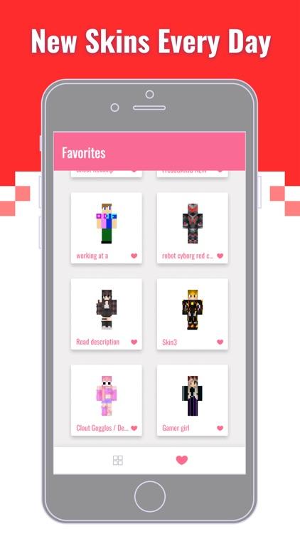 Skins Garderob for Minecraft ™