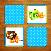 Memory Match for kids - find pairs, match cards and train your memory and concetration! icon