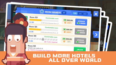 Super Hotel Tycoon Screenshot on iOS