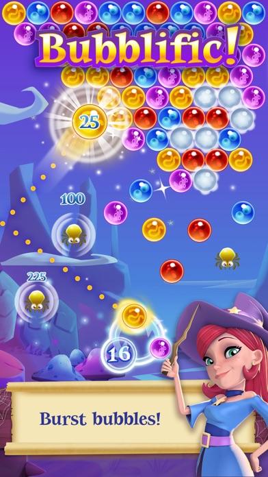 Bubble Witch 2 Saga Screenshot