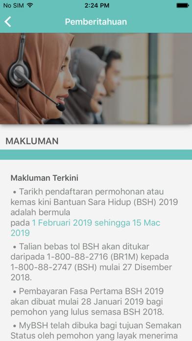 Screenshot for Bantuan Sara Hidup in Finland App Store