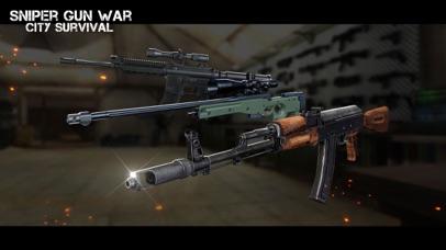 Sniper Gun War - City Survival Screenshot 4