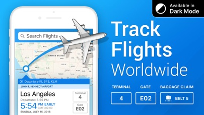 The Flight Tracker Screenshot