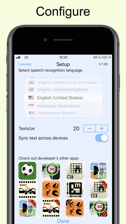 Dictate Pro - Speech to text screenshot-4