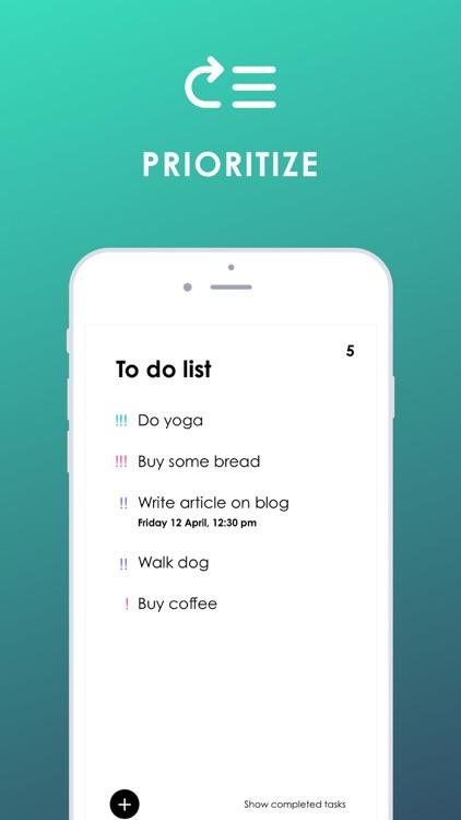To Do - List & Task Organizer