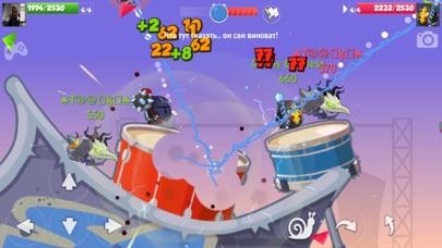 Скриншот №1 к Wormix Онлайн ШутерСтрелялки