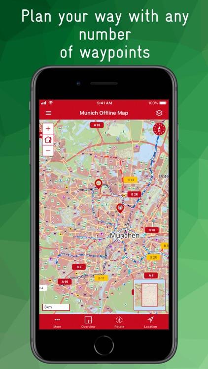 Munich Offline Map screenshot-8