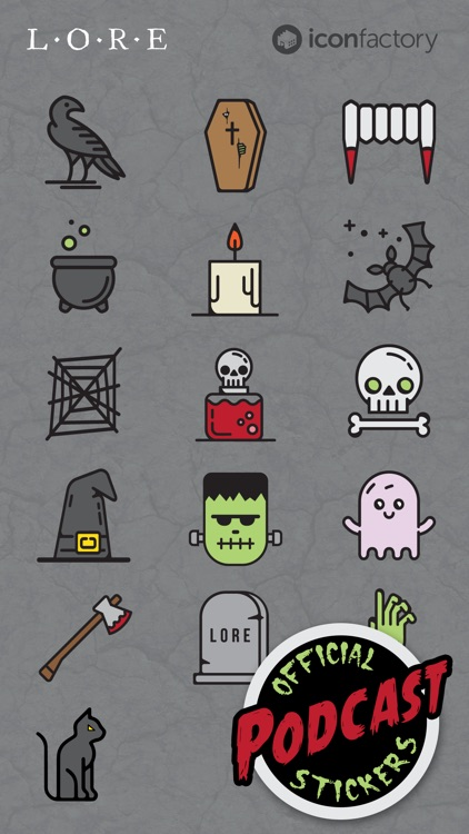 Iconfactory Lore Stickers