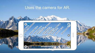 Screenshot for PeakFinder AR in Finland App Store