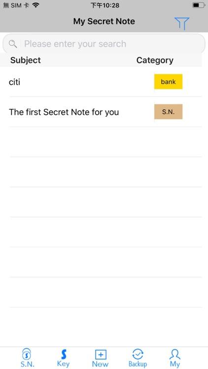 Secret Note Go screenshot-4