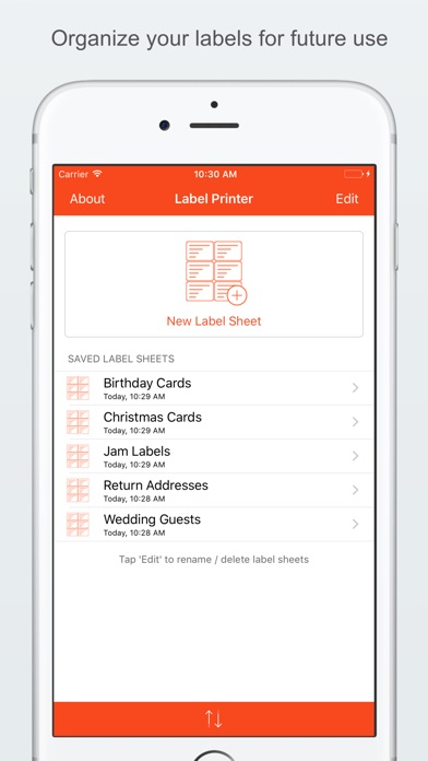 Screenshot for Label Printer in United States App Store