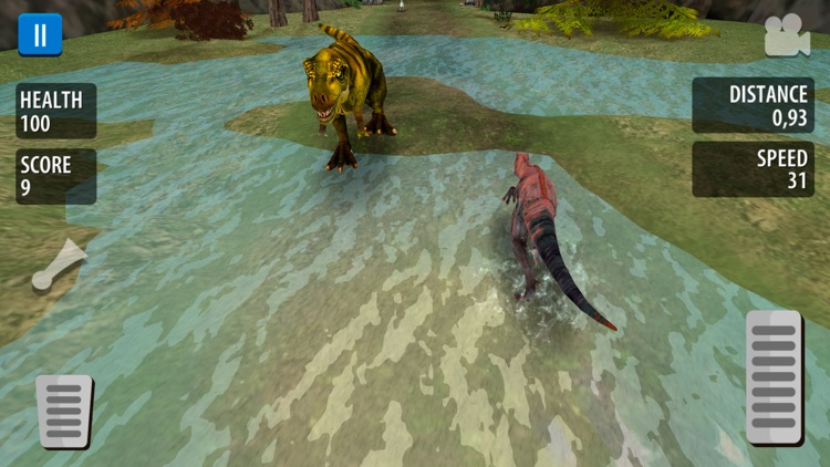 Jurassic Escape: Dino Sim 2020 screenshot-2