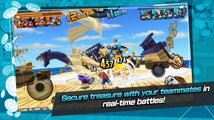 ONE PIECE Bounty Rush screenshot-3