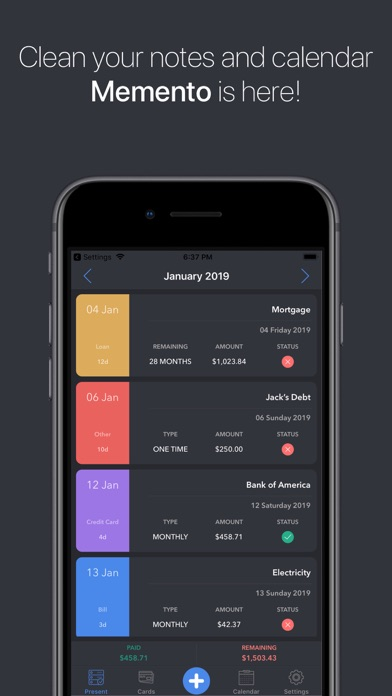 Expensify: Bill Organizer Screenshot