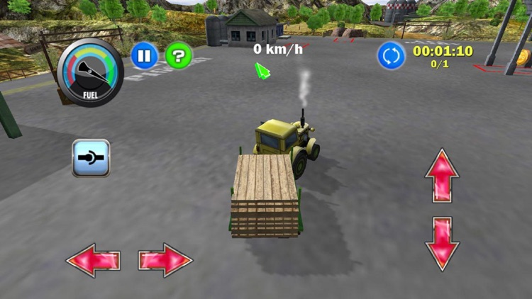 Tractor Farm Driver - Gold screenshot-4