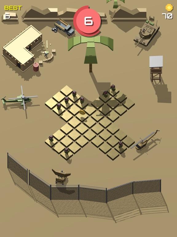 Pixel 3D - Soldier Gamesのおすすめ画像1