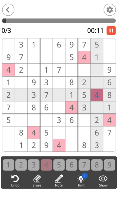 Sudoku: Brain Puzzle Game screenshot 5