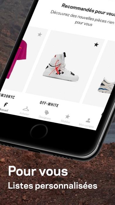 Screenshot for Farfetch : pièces de créateurs in Lebanon App Store
