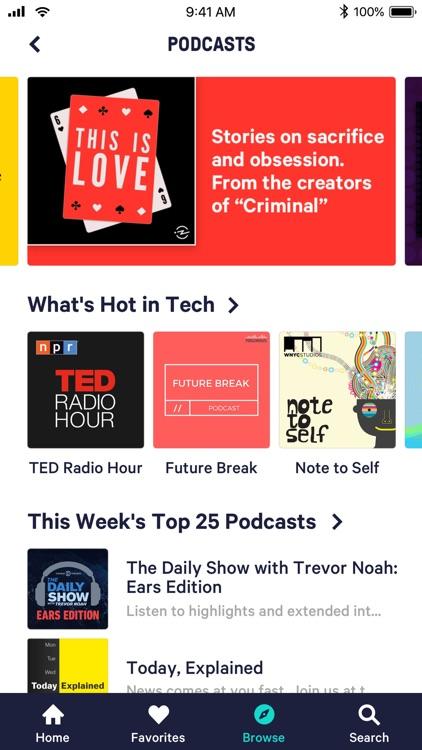 TuneIn: NFL Radio & Podcasts screenshot-3