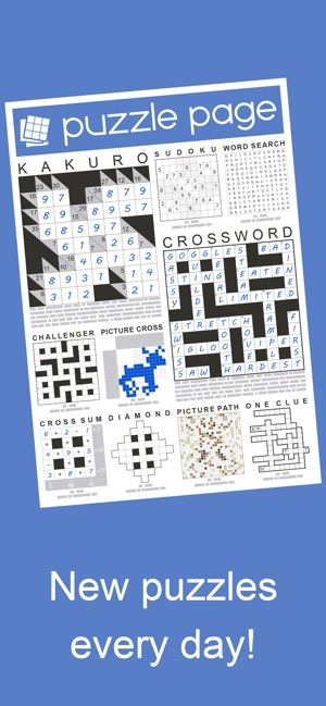 Puzzle Page On The App Store - Crossword-puzzle-maps-in-us-history-answers