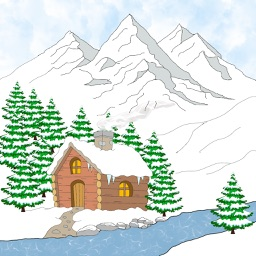 Winter Christmas edition