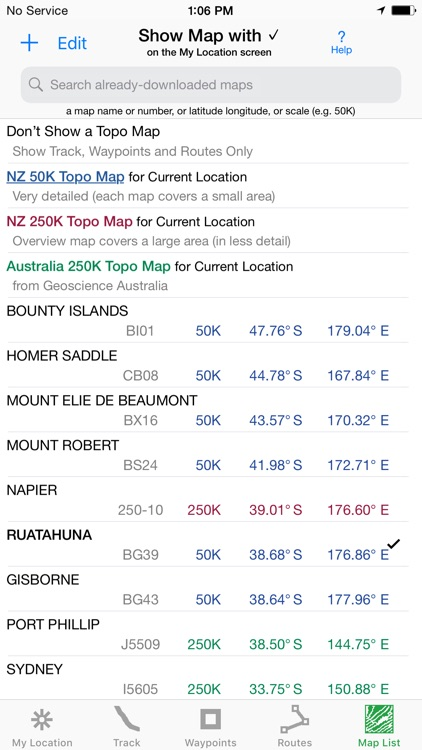 i Hike GPS NZ : Topo Maps screenshot-6