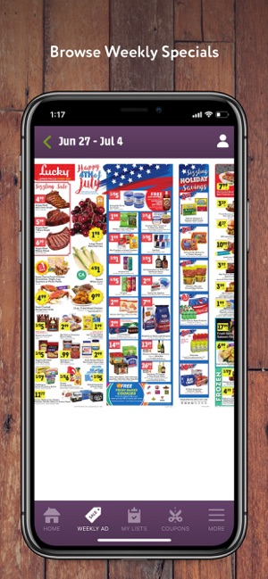 Lucky Supermarkets on the App Store