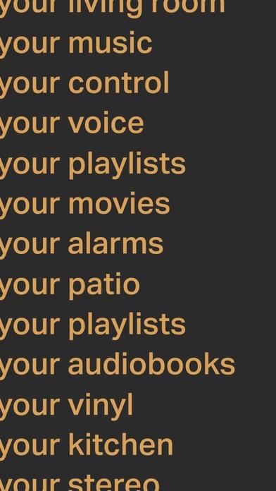 Sonos screenshot 2