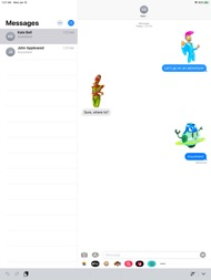 LostBot Stickers ipad images