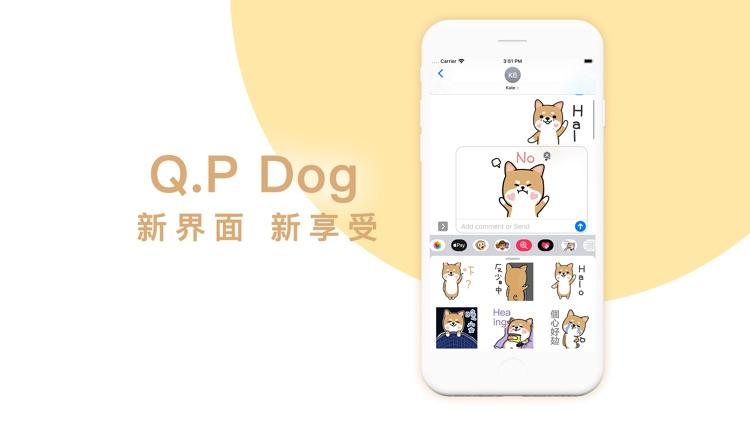 Q.P Dog - Sticker