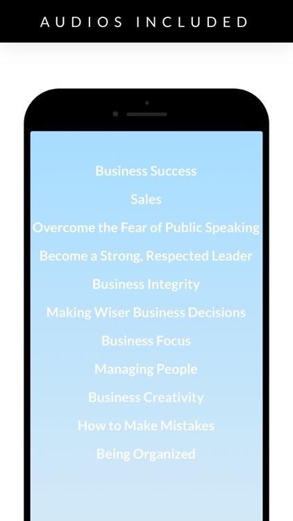 Business Success Hypnosis screenshot-4
