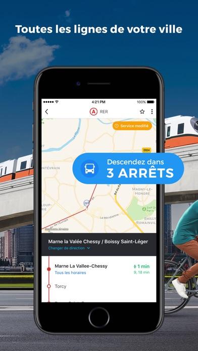 Screenshot for Moovit: Transports en commun in Lebanon App Store
