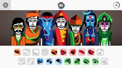 Screenshot of Incredibox App