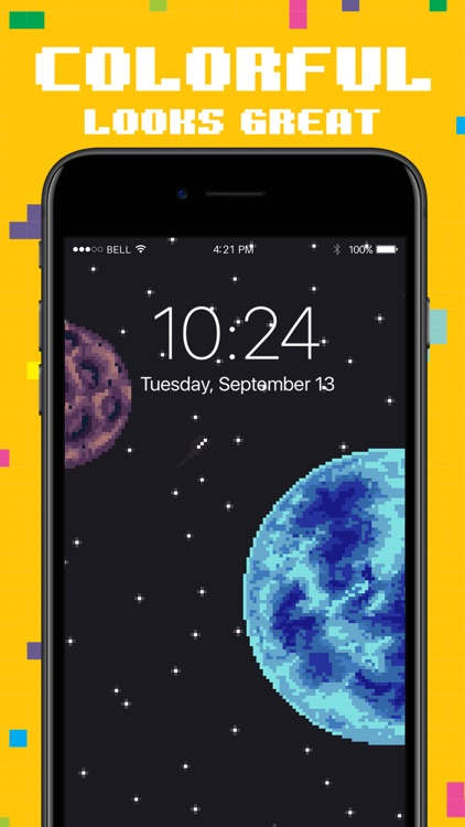 Moving Pixel Live Wallpapers screenshot-7